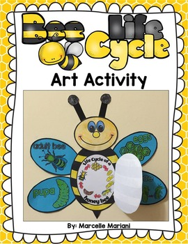 Bee Life Cycle Art Activity- Differentiated