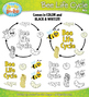 Bee Life Cycle Clip Art Set — Comes In Color and Black & White!