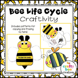 Bee Life Cycle Craft | Spring Activities | Life Cycle of a Bee | Spring Craft
