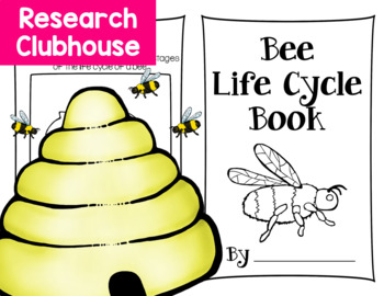 Bee Life Cycle Research Book
