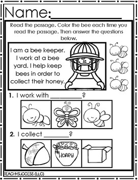 Bee Life Cycle journal