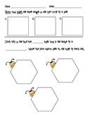 Bee Life Cycle with Honeycomb