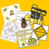 Bee Lifecycle Math, Science and Literacy Pack