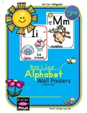 Bee Line Alphabet Wall Posters