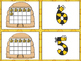Bee Matching Game -Numbers 1-20