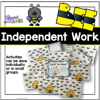 Bee Math Work Station Activities for numbers 11 to 20