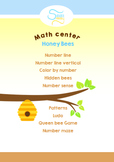 Bee Math center