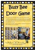 Bee Maths Door Game
