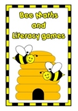 Bee Math and Literacy centers