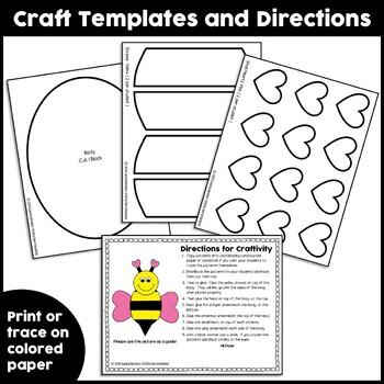 Valentines Day Craft {Bee Mine}