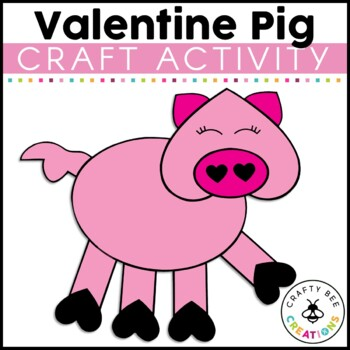 Valentines Day Craft {Hogs & Kisses}