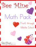 Bee Mine Math Pack (PreK-Middle School)