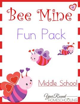 Bee Mine Middle School Fun Pack