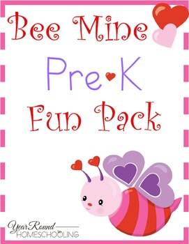 Bee Mine PreK Fun Pack