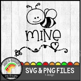 Bee Mine SVG Design