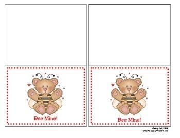 Bee Mine Valentine Card