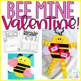 Bee Mine Valentine's Day Craft & Printables