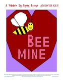 Bee Mine Valentines Day Coordinate Graphing / Ordered Pairs Practice
