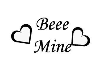 Bee Mine Valentines Day Craft