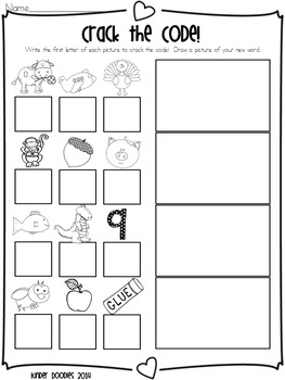Bee Mine! Valentine's Day themed literacy printables & write the room