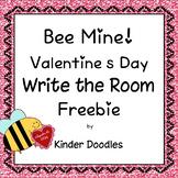 Bee Mine!  Write the Room Sight Word Freebie