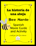 Bee Movie - La historia de una abeja Spanish Movie Guide and Activity Packet