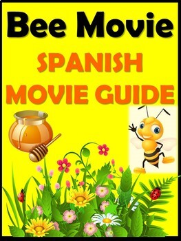 Bee Movie Video Guide in Spanish (38 pages)