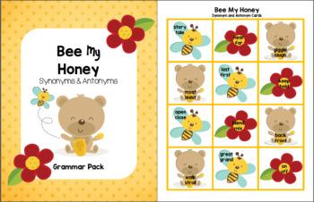 Bee My Honey - Synonym and Antonym Grammar Pack