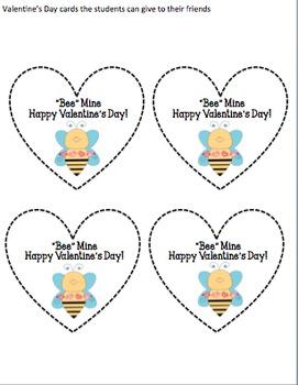 """Bee"" Mine (A Valentine's Day Writing Craft)"