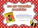 Bee My Valentine Craftivity