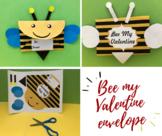Bee My Valentine Envelope
