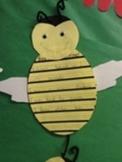 Bee My Valentine writing/art project