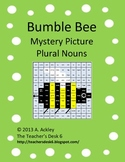 Bee Mystery Picture Plural Nouns