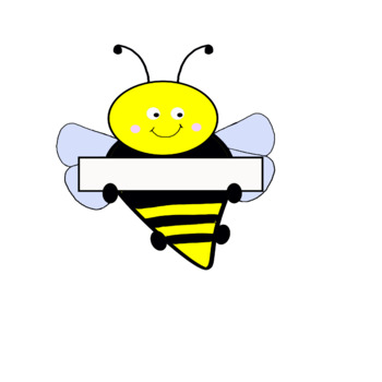 Bee Name Tag by Tinder Kinders | Teachers Pay Teachers