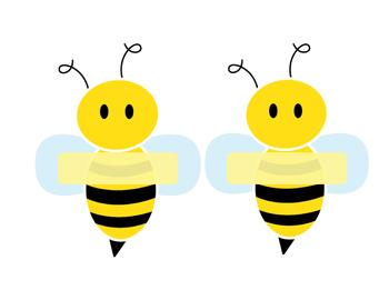Bee Name Tags