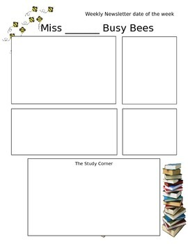 Bee Newsletter template