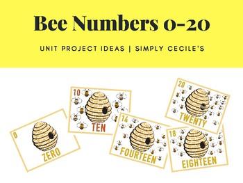 Bee Numbers 0-20