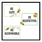 Bee PBIS Program Classroom Rules Signs