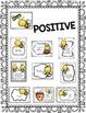 Bee Positive Bulletin Board {Character Skills Quotes Guida