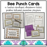 Bee Punch Card (Positive Behavior Incentive Program)