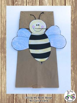 Bee Puppet Craft