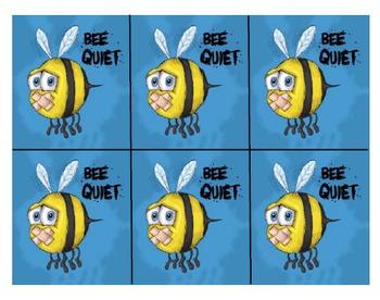 Bee Quiet Blurt Alert