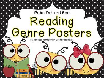 Bee Reading Genre posters