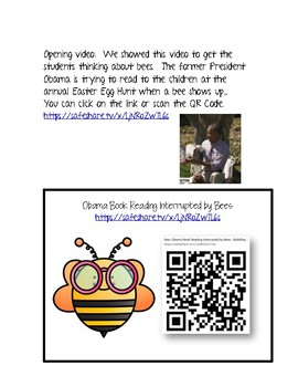 2nd Grade NGSS 2-LS2-2 Polination - Bee Ready to Investigate with QR Codes