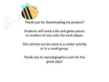 Bee Real e Vowel Teams Game