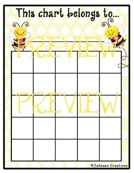 Bee Reward Charts #2
