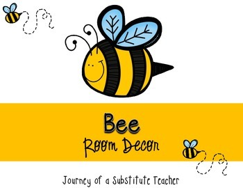 Bee Room Decor Pack