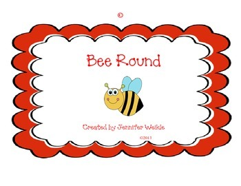 """Bee Round"" Rounding Tasking Cards"