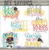Bee Sayings Clip Art