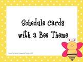 Bee Schedule Cards